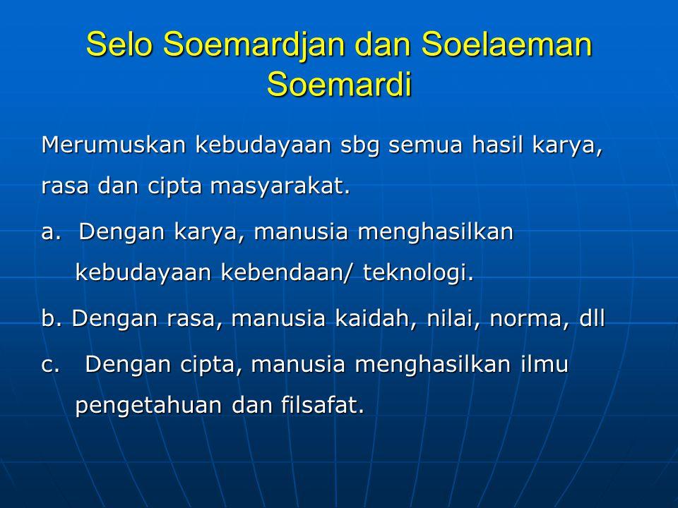 Selo Soemardjan dan Soelaeman Soemardi