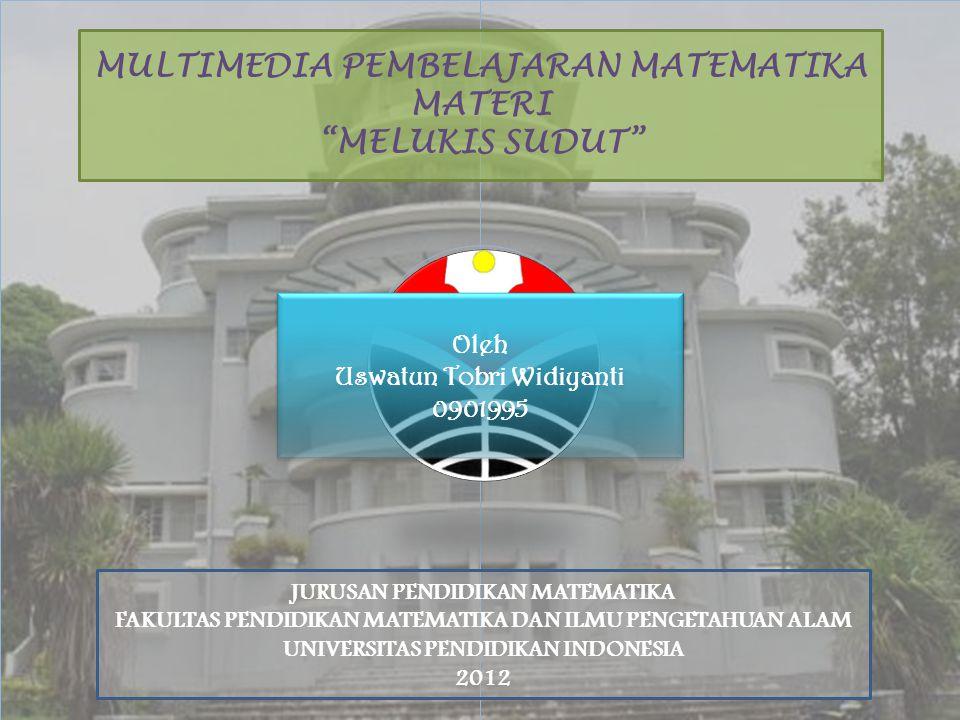 MULTIMEDIA PEMBELAJARAN MATEMATIKA MATERI MELUKIS SUDUT