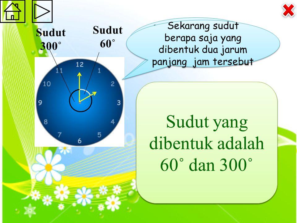 Jam disamping menunjukkan pukul 05.00