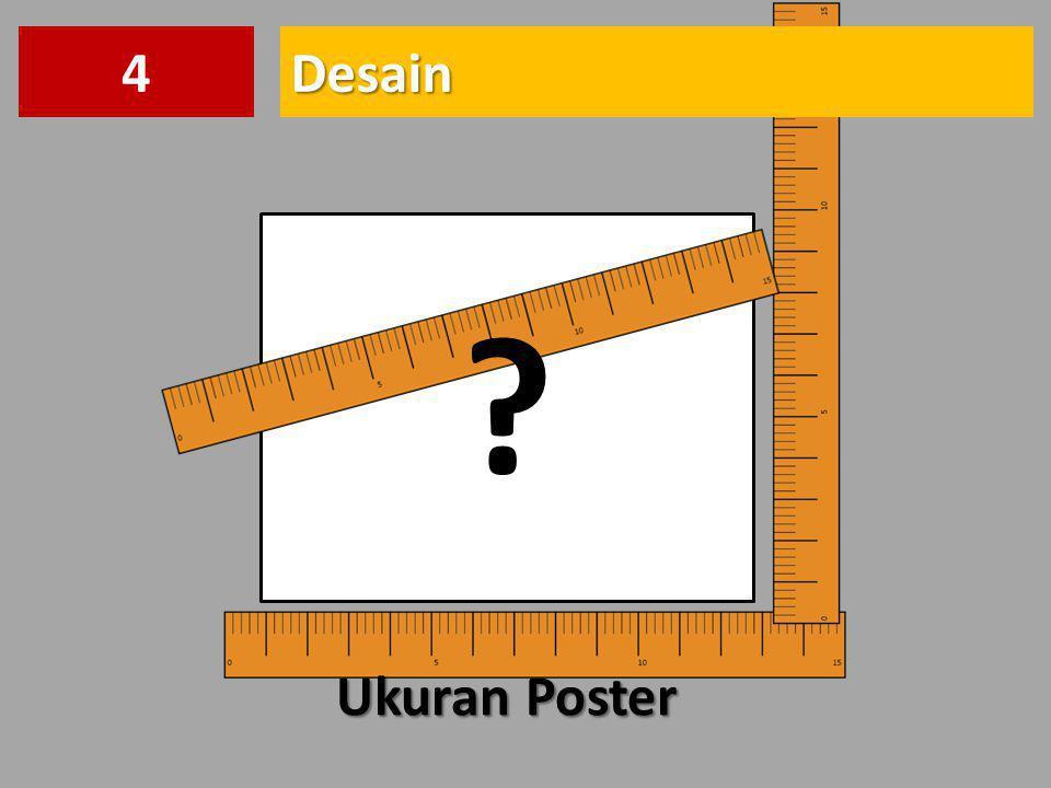 4 Desain Ukuran Poster