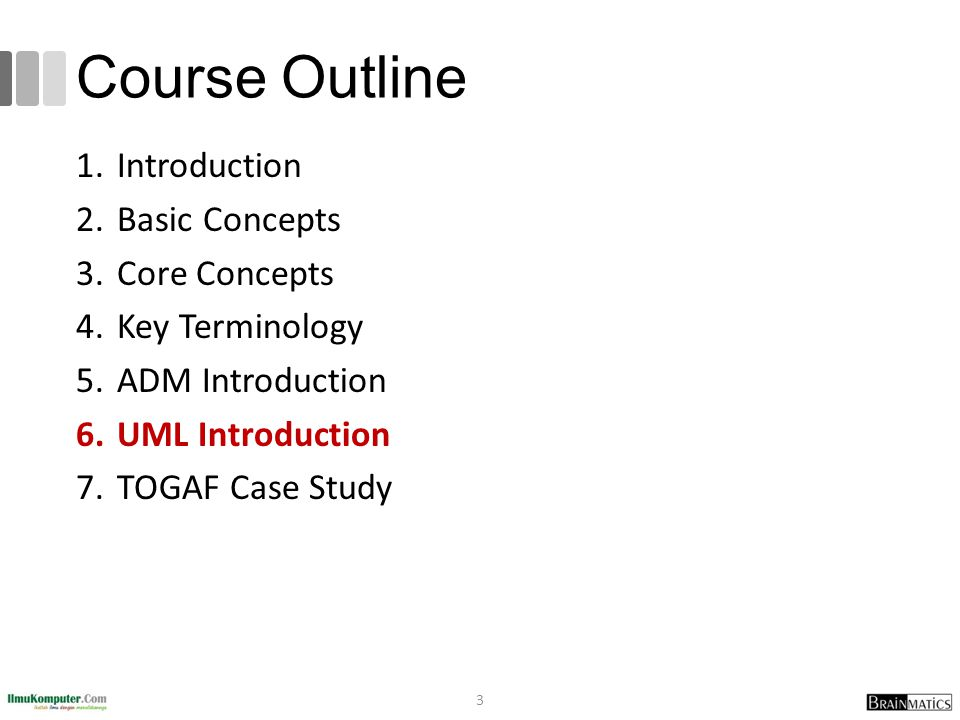 Course Outline Introduction Basic Concepts Core Concepts