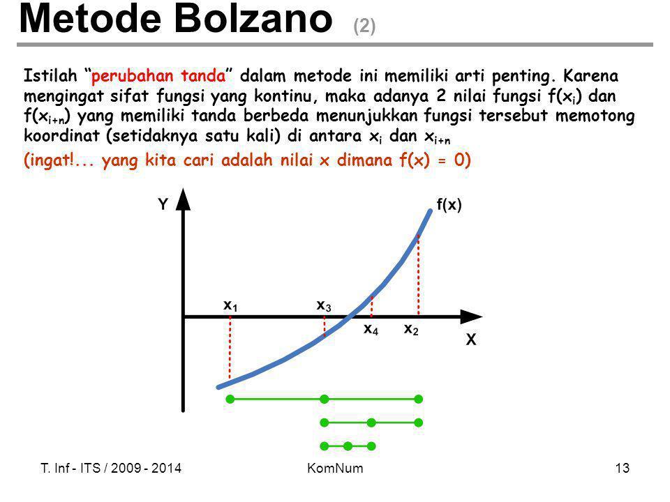 Metode Bolzano (2)