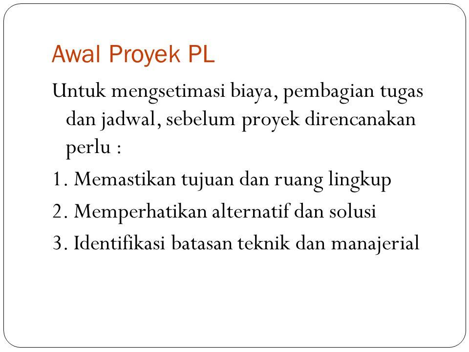 Awal Proyek PL
