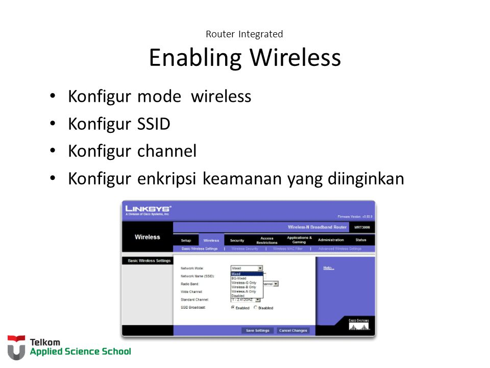 Router Integrated Enabling Wireless