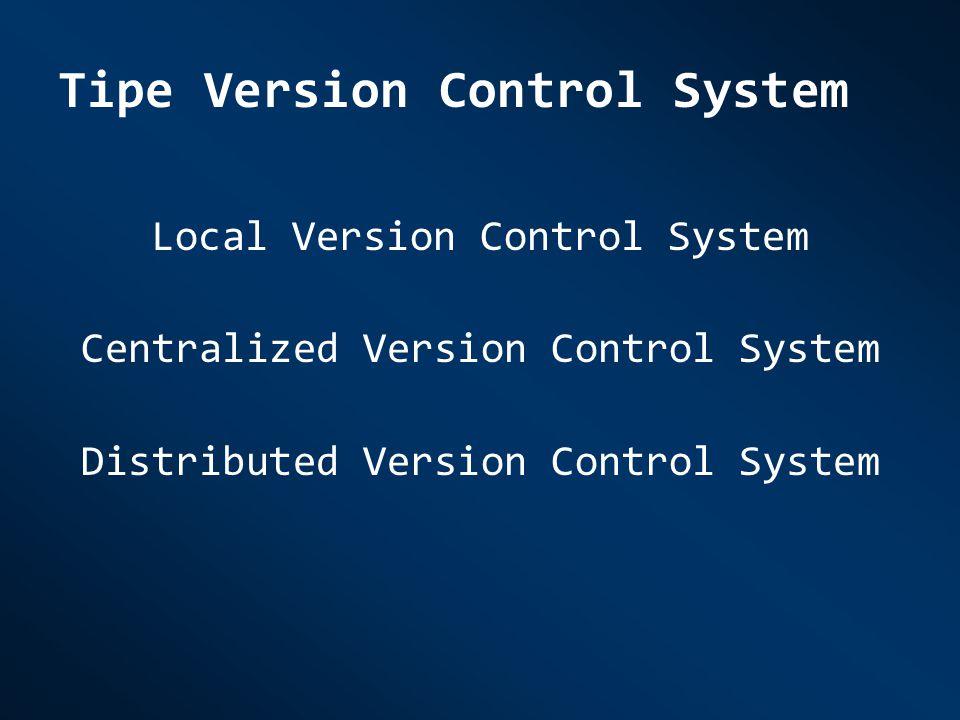 Tipe Version Control System