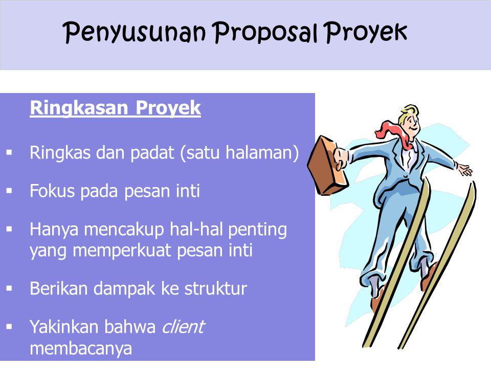 Ringkasan Proyek Ringkas dan padat (satu halaman)