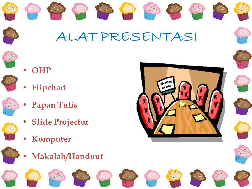 ALAT PRESENTASI OHP Flipchart Papan Tulis Slide Projector Komputer