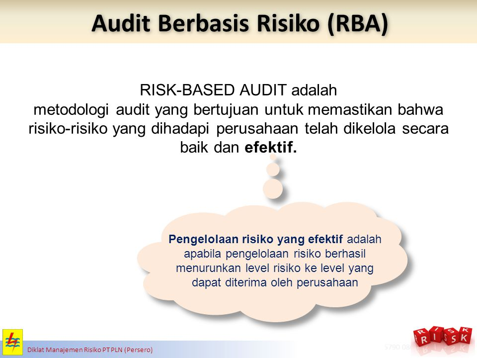 Audit Berbasis Risiko (RBA)