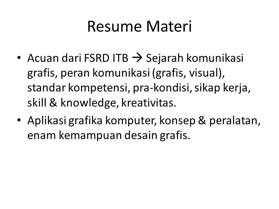 Resume Materi