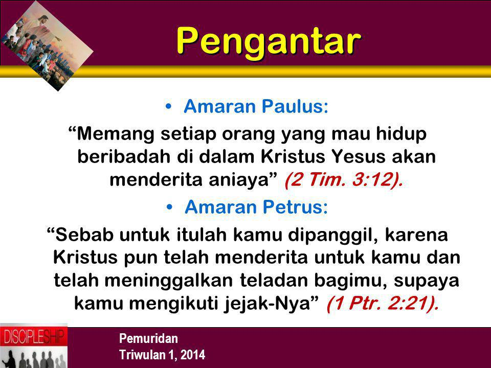 Pengantar Amaran Paulus: