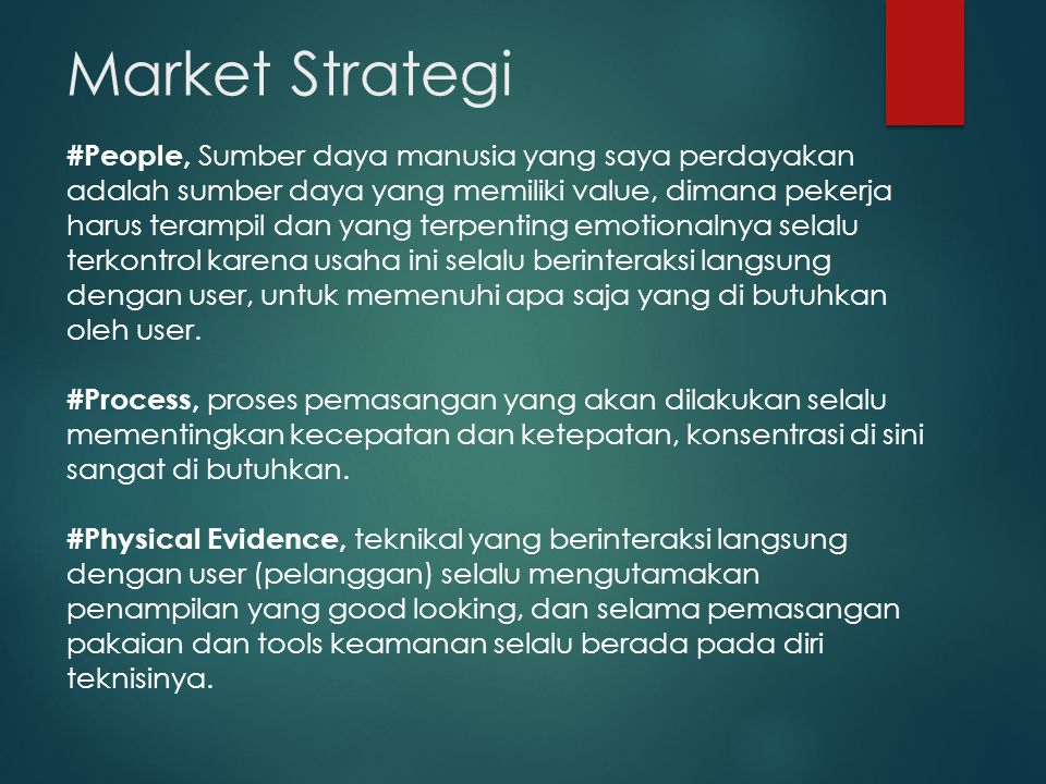 Market Strategi