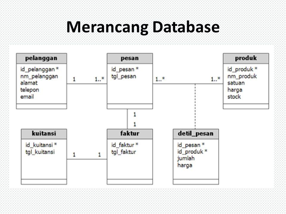 Merancang Database
