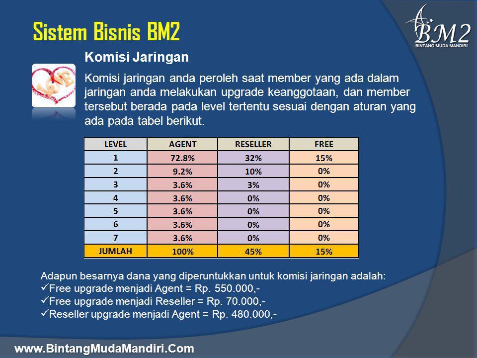 Sistem Bisnis BM2 Komisi Jaringan