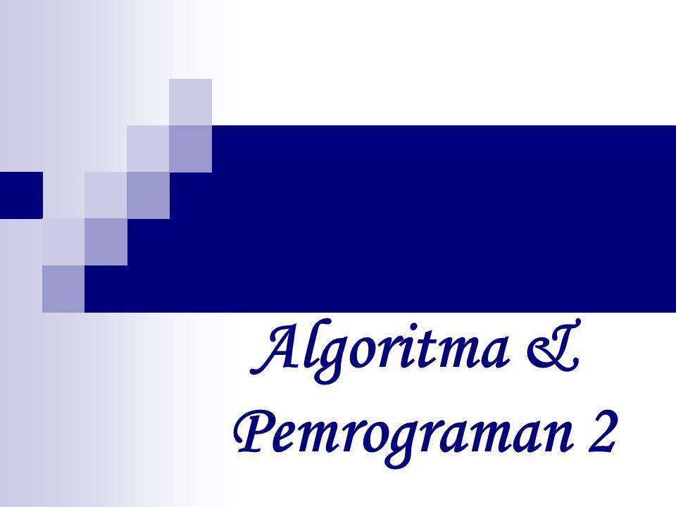 Algoritma & Pemrograman 2
