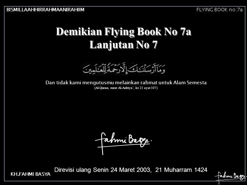 Demikian Flying Book No 7a