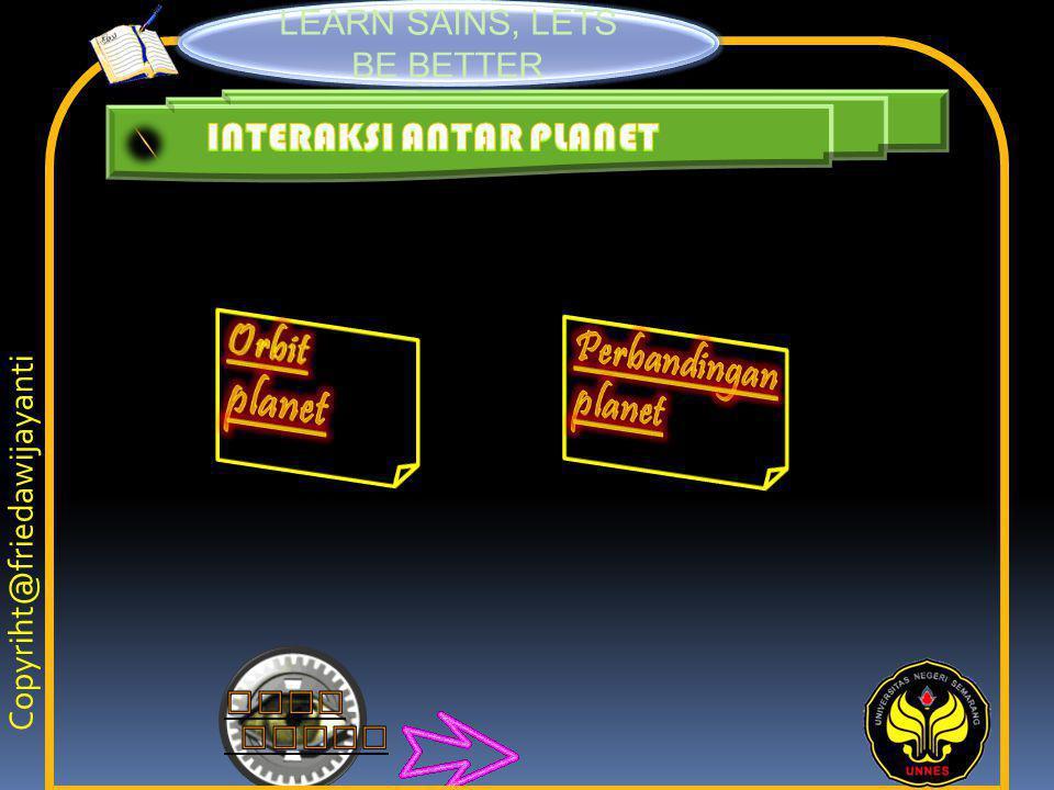 INTERAKSI ANTAR PLANET