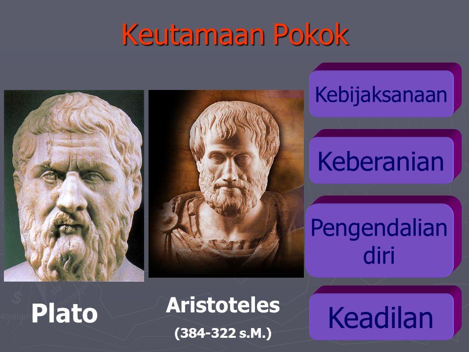 Keutamaan Pokok Keadilan Keberanian Plato Pengendalian diri