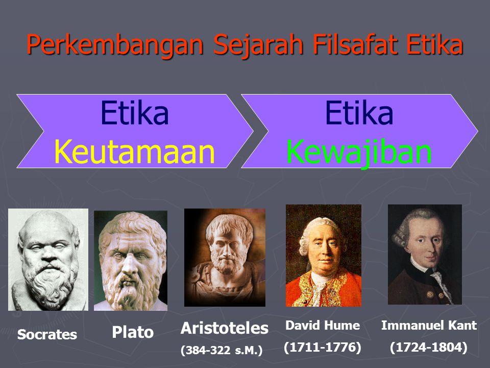 Perkembangan Sejarah Filsafat Etika