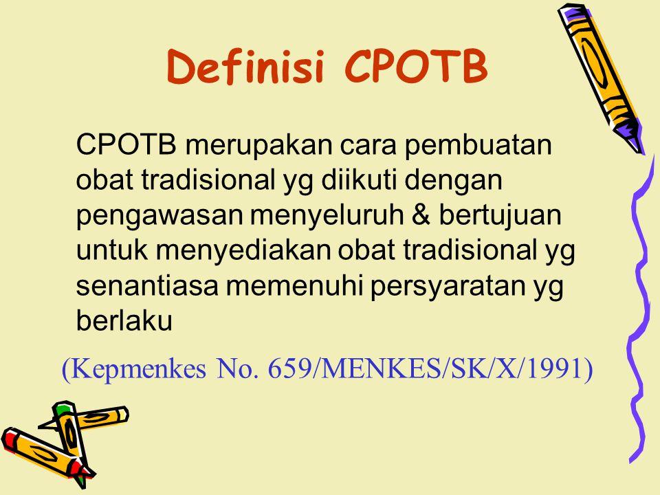 Definisi CPOTB