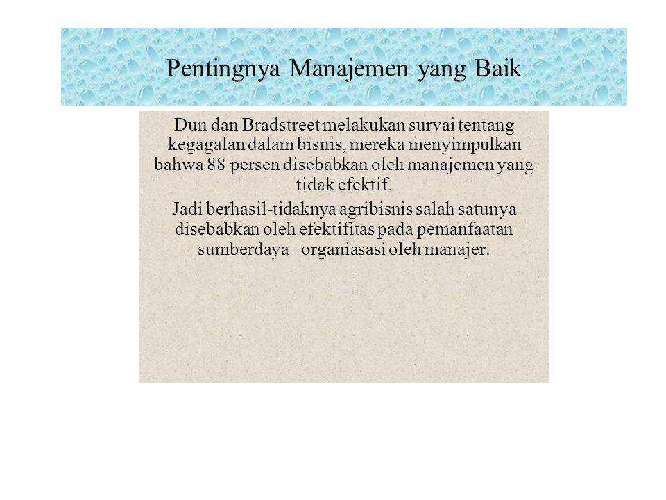 Pentingnya Manajemen yang Baik