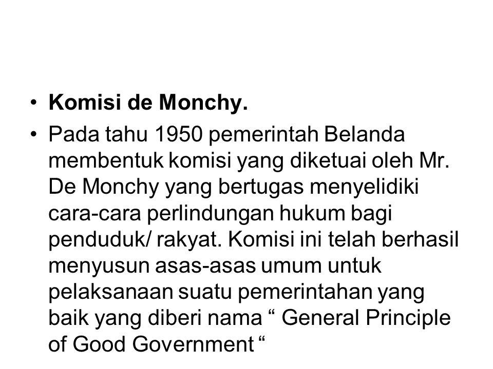 Komisi de Monchy.