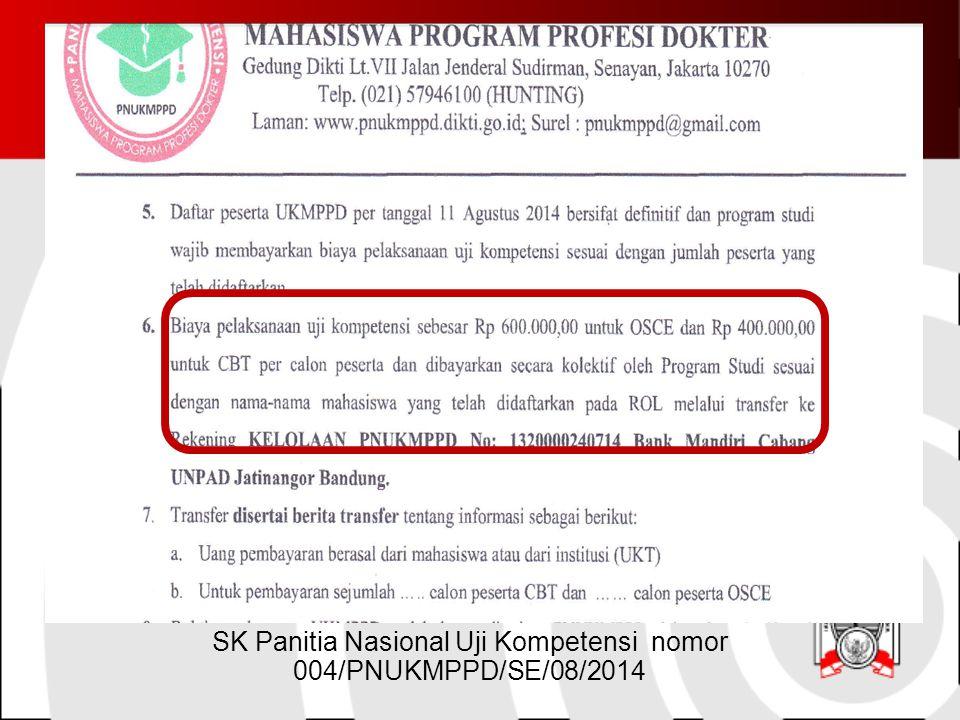 SK Panitia Nasional Uji Kompetensi nomor 004/PNUKMPPD/SE/08/2014
