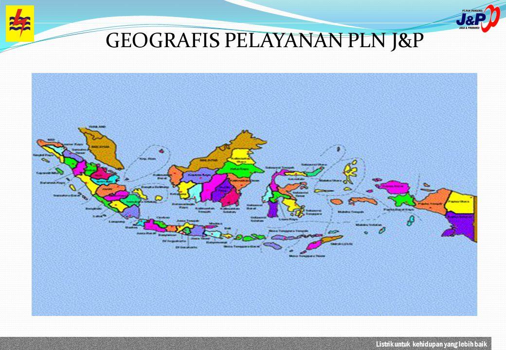 GEOGRAFIS PELAYANAN PLN J&P