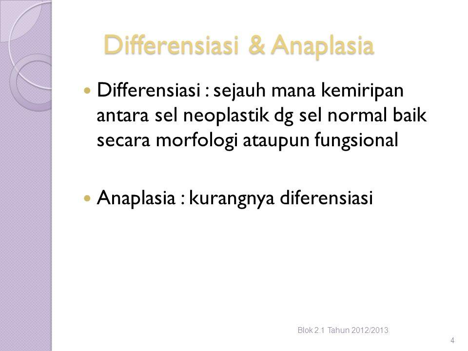 Differensiasi & Anaplasia