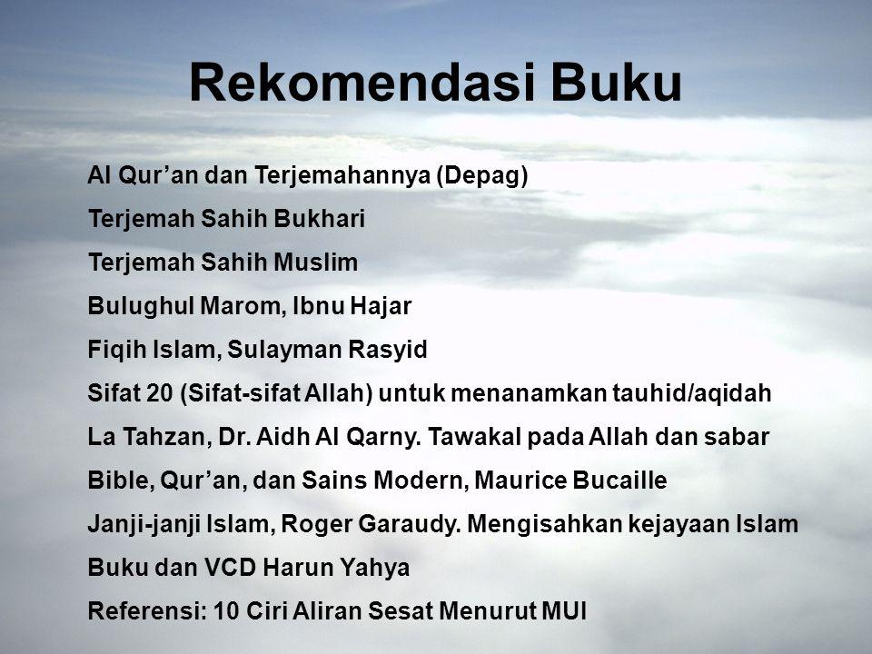 Rekomendasi Buku Al Qur'an dan Terjemahannya (Depag)
