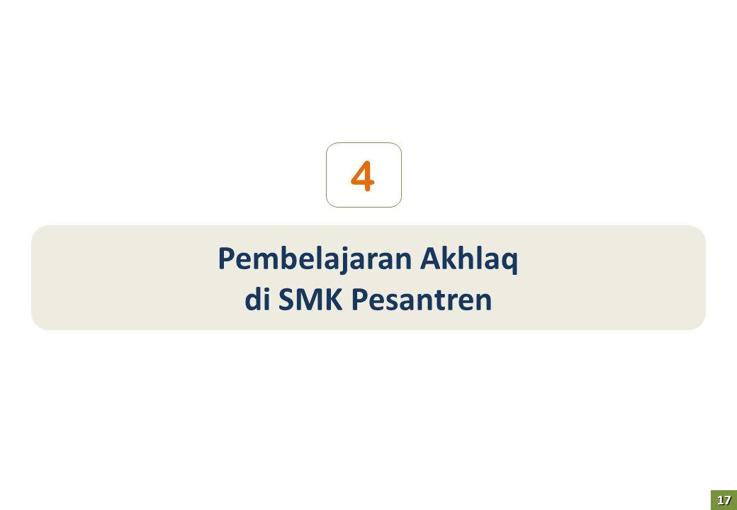 4 Pembelajaran Akhlaq di SMK Pesantren 17
