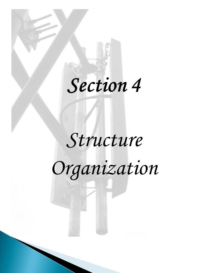 Structure Organization
