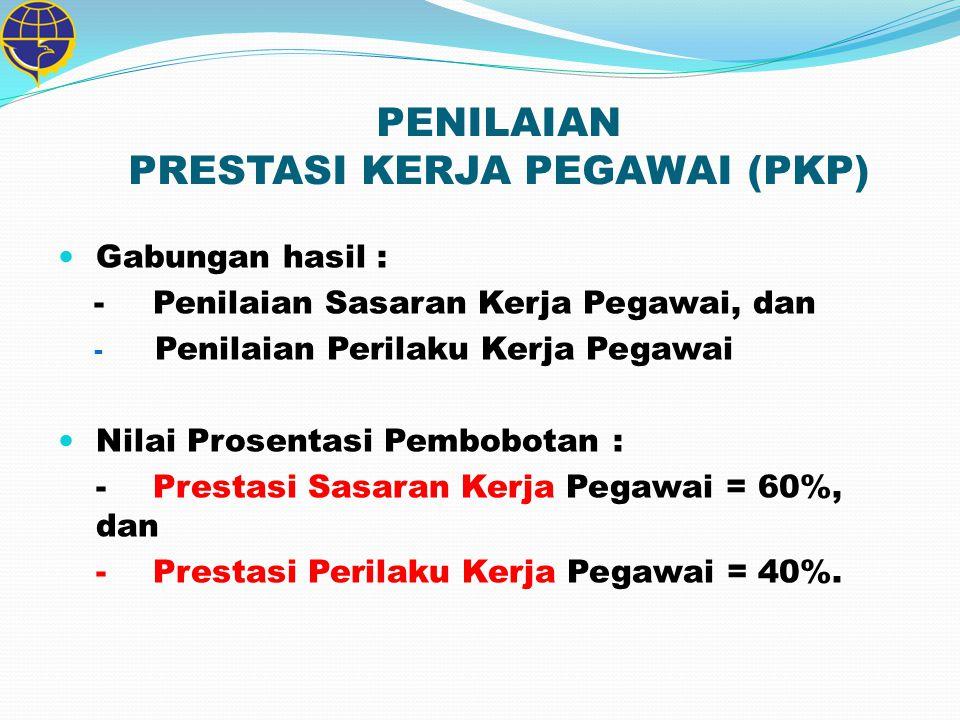 PENILAIAN PRESTASI KERJA PEGAWAI (PKP)