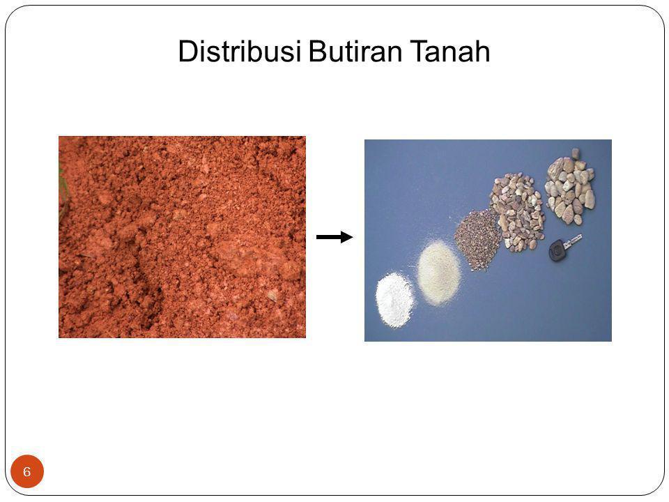 Distribusi Butiran Tanah