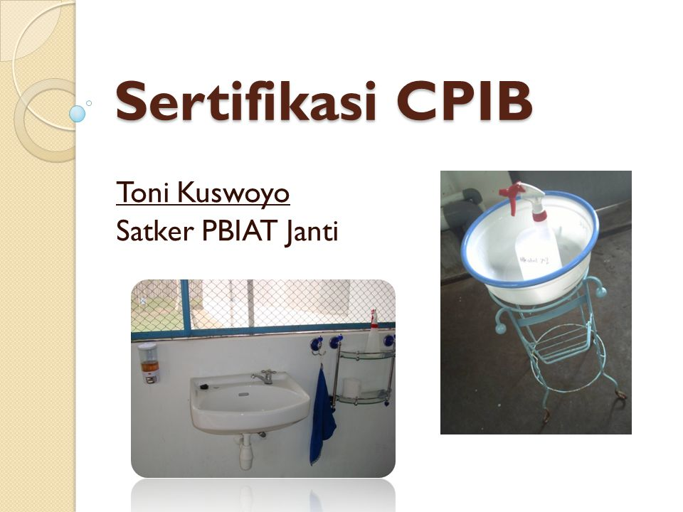 Toni Kuswoyo Satker PBIAT Janti