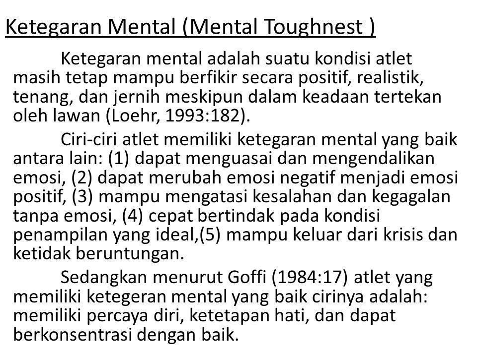 Ketegaran Mental (Mental Toughnest )