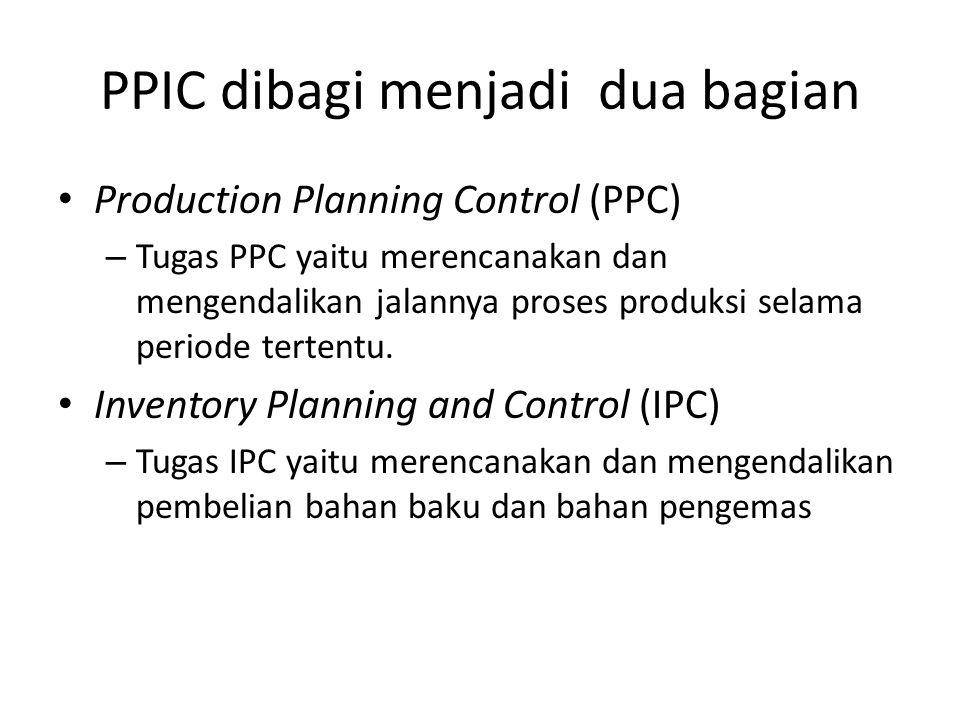 PPIC dibagi menjadi dua bagian