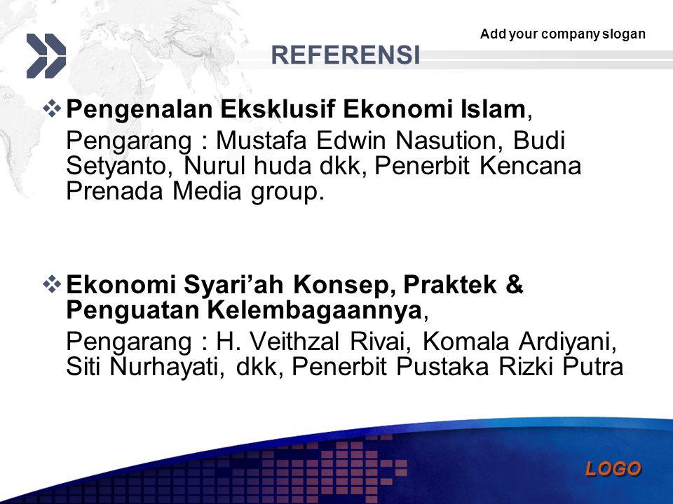 REFERENSI Pengenalan Eksklusif Ekonomi Islam,