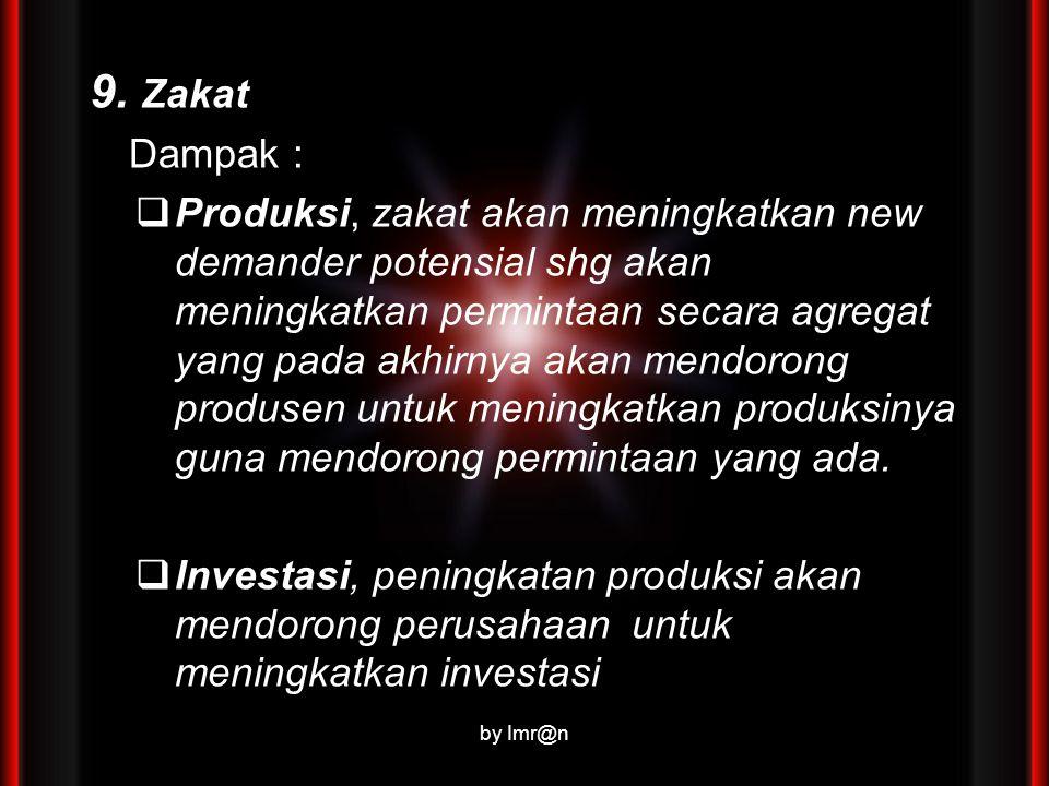 9. Zakat Dampak :
