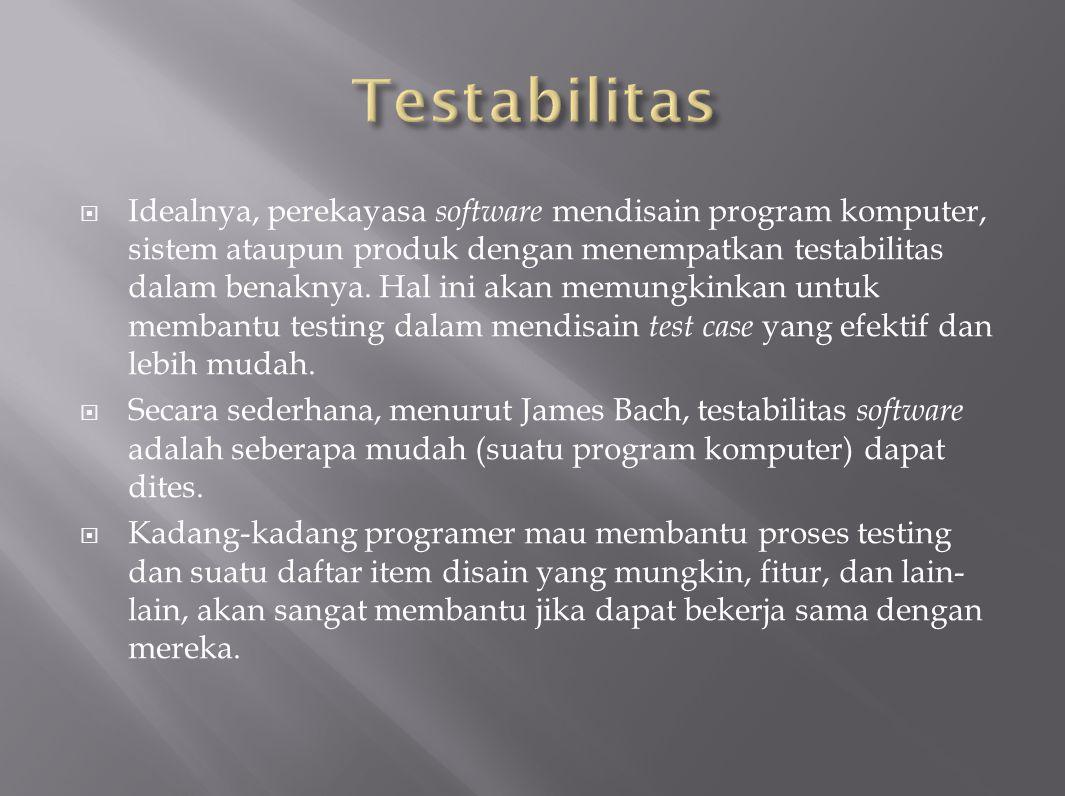 Testabilitas