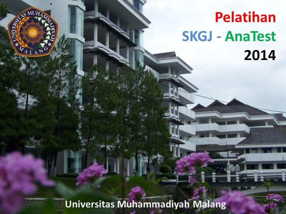 Pelatihan SKGJ - AnaTest 2014