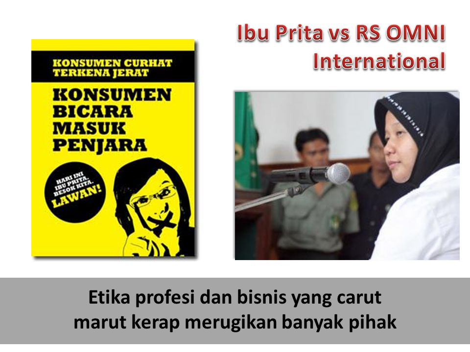 Ibu Prita vs RS OMNI International