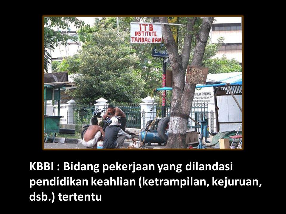 Pengertian Profesi KBBI : Bidang pekerjaan yang dilandasi pendidikan keahlian (ketrampilan, kejuruan, dsb.) tertentu.