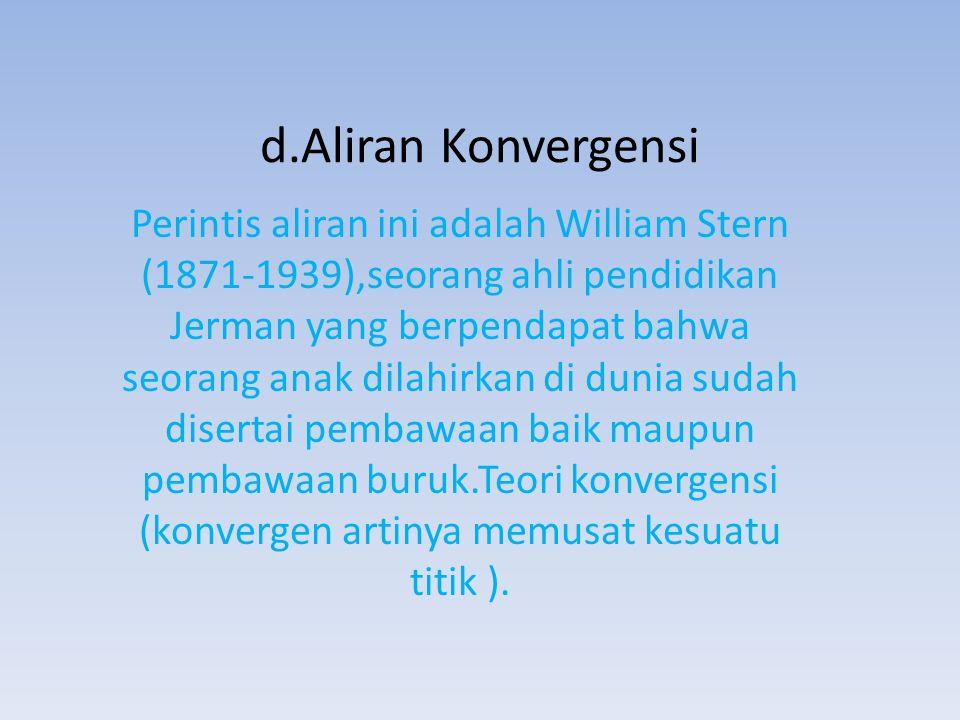 d.Aliran Konvergensi