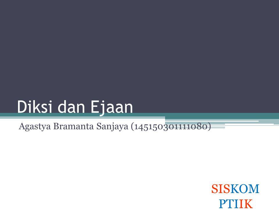 Agastya Bramanta Sanjaya (145150301111080)