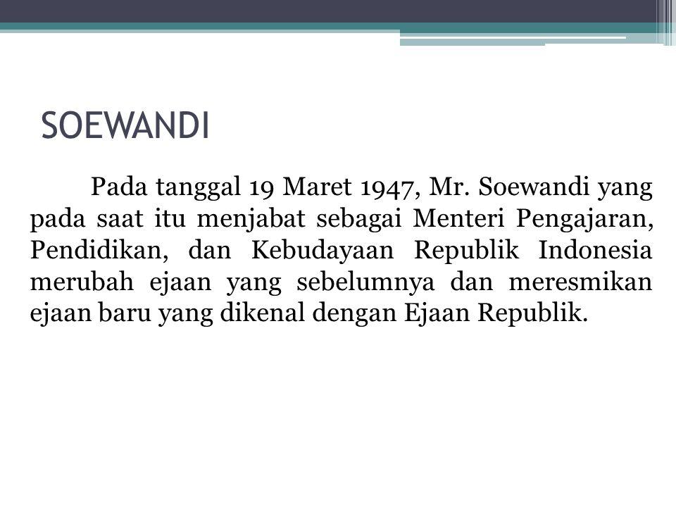 SOEWANDI