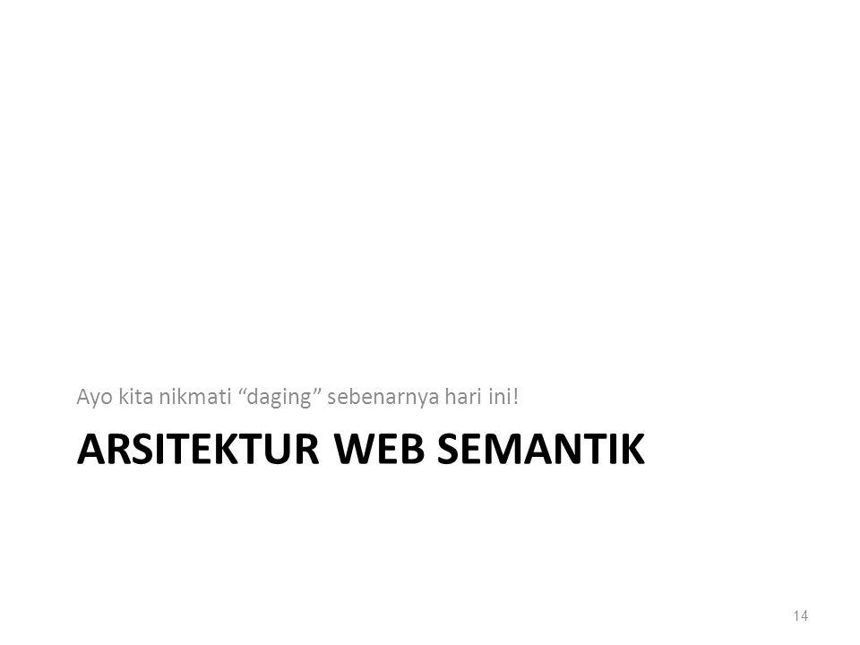 Arsitektur web semantik