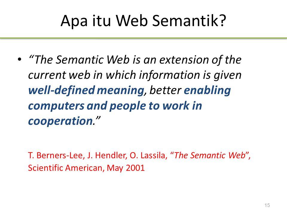 Apa itu Web Semantik