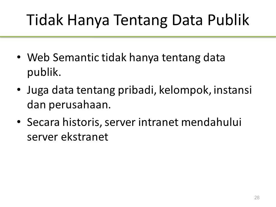 Tidak Hanya Tentang Data Publik