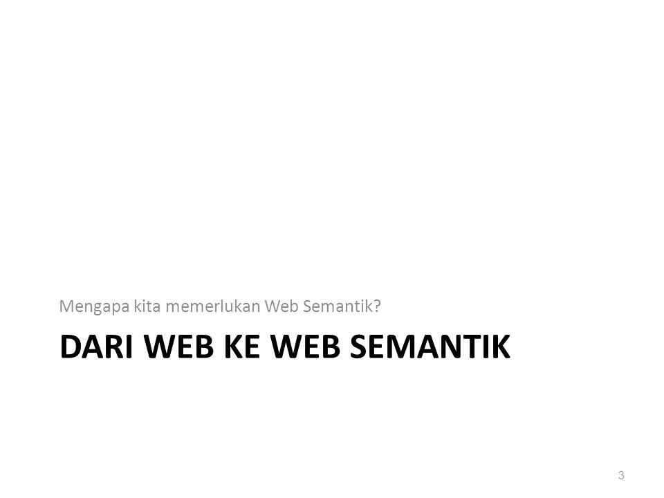 Dari web ke web semantik