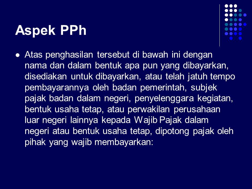 Aspek PPh